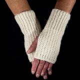 Easy Knit Kit for Fingerless Gloves